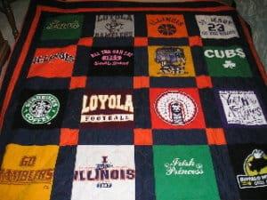 CoachSponsor Quilt Graduation Quilt Relay for Life Quilt Custom 9-12 Block T-ShirtMemory Quilt Memory Quilt T-Shirt Quilt