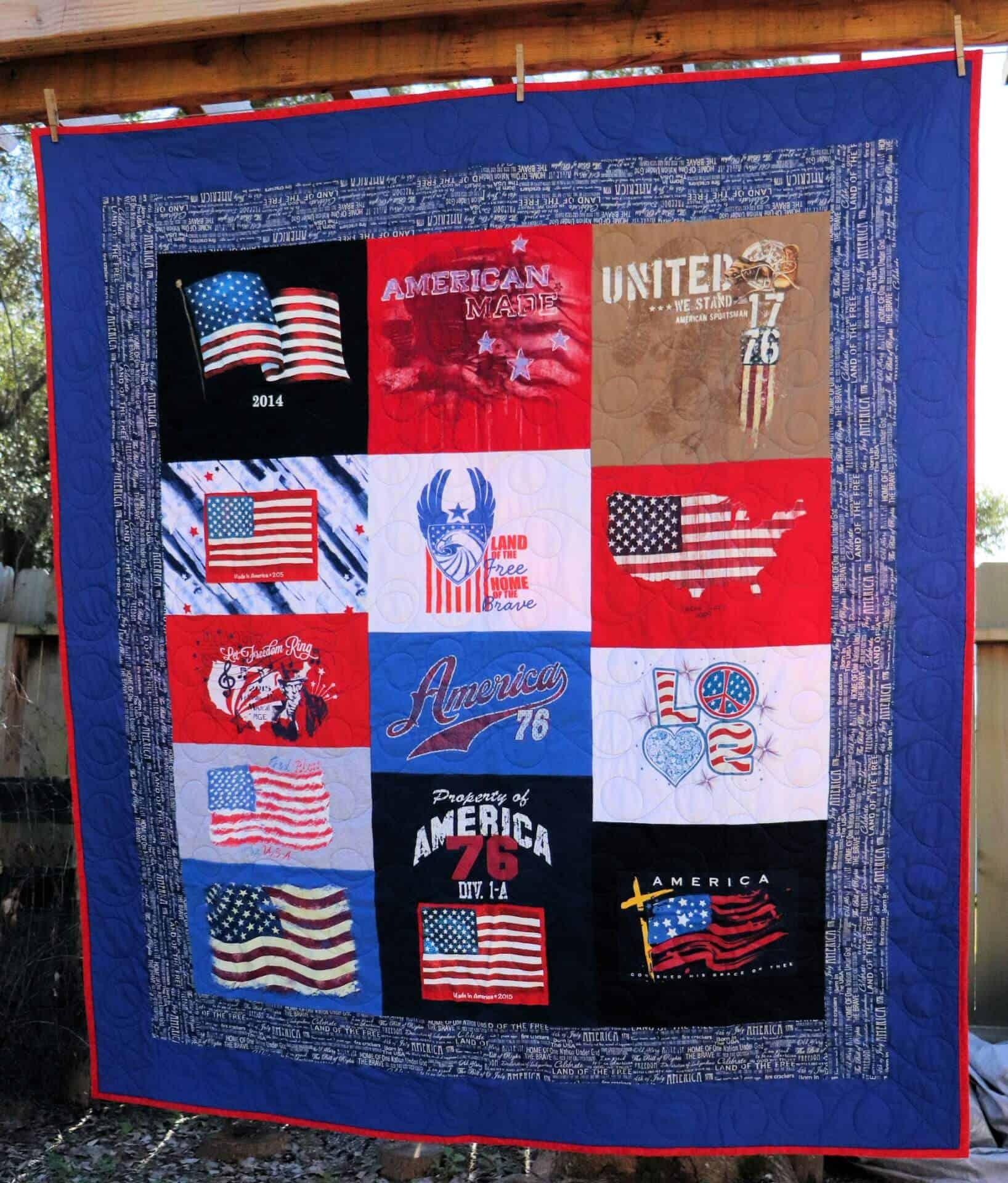 T Shirt Memory Quilt Pattern Free Labzada T Shirt